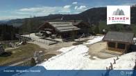 Archiv Foto Webcam 3 Zinnen - Innichen Bergstation Haunold 14:00