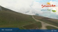 Archiv Foto Webcam Ulten - Schwemmalm Bergstation 09:00