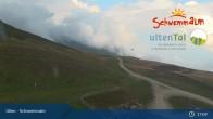Archiv Foto Webcam Ulten - Schwemmalm Bergstation 11:00