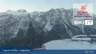 Archiv Foto Webcam Skiarena Campiglio Dolomiti - Folgarida Marilleva - Malghet Aut 19:00
