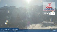 Archiv Foto Webcam Skiarena Campiglio Dolomiti - Folgarida Marilleva - Malghet Aut 03:00