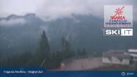 Archived image Webcam Skiarena Campiglio Dolomiti - Malghet Aut 19:00