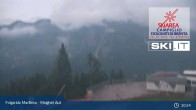 Archived image Webcam Skiarena Campiglio Dolomiti - Malghet Aut 21:00