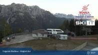 Archiv Foto Webcam Skiarena Campiglio Dolomiti - Folgarida Marilleva - Malghet Aut 23:00