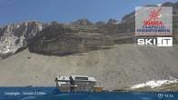 Archived image Webcam Madonna di Campiglio - Grostè Base Station 05:00