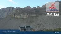 Archiv Foto Webcam Madonna di Campiglio - Grostè Talstation 19:00