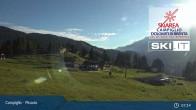 Archiv Foto Webcam Madonna di Campiglio - Pinzolo 01:00