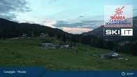 Archived image Webcam Slopes and Lifts in Pinzolo 23:00