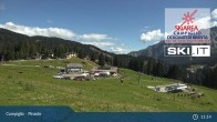 Archived image Webcam Slopes and Lifts in Pinzolo 05:00