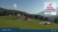 Archiv Foto Webcam Madonna di Campiglio - Pinzolo 03:00