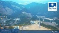 Archived image Webcam Jasná Ski Resort - Luková 21:00