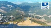 Archived image Webcam Jasná Ski Resort - Luková 09:00