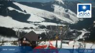 Archived image Webcam Jasná Ski Resort - Luková 19:00
