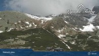Archived image Webcam View of Skalnate Pleso (Tatranská Lomnica) 04:00