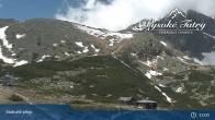 Archived image Webcam View of Skalnate Pleso (Tatranská Lomnica) 08:00