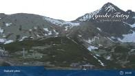 Archived image Webcam View of Skalnate Pleso (Tatranská Lomnica) 14:00