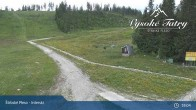 Archived image Webcam Strbské Pleso Interski 22:00