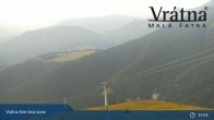 Archiv Foto Webcam Blick auf Vratna-Chleb (1457m) 23:00