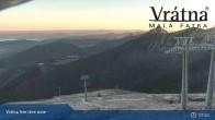 Archiv Foto Webcam Blick auf Vratna-Chleb (1457m) 01:00