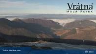 Archiv Foto Webcam Blick auf Vratna-Chleb (1457m) 07:00