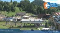 Archiv Foto Webcam Donovaly - Sessellift Záhradiste (1031m) 05:00