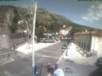 Archiv Foto Webcam Dorfzentrum Rocca di Cambio 04:00