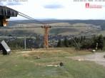 Archiv Foto Webcam Blick vom Fichtelberg 08:00