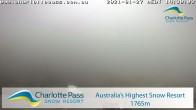 Archived image Webcam Pulpit T - Charlotte Pass 08:00