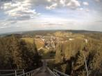 Archiv Foto Webcam Schönwald: Blick von der Adlerschanze 12:00