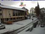 Archiv Foto Webcam Rathaus und Kirche Schönwald 08:00