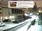 Archiv Foto Webcam Rathaus und Kirche Schönwald 14:00