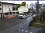 Archiv Foto Webcam Schönwald: Rathaus und Kirche 06:00