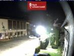 Archiv Foto Webcam Schönwald: Rathaus und Kirche 18:00