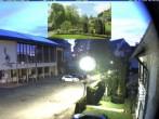 Archiv Foto Webcam Schönwald: Rathaus und Kirche 22:00