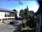 Archiv Foto Webcam Schönwald: Rathaus und Kirche 02:00