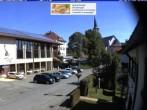 Archiv Foto Webcam Schönwald: Rathaus und Kirche 04:00
