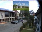 Archiv Foto Webcam Schönwald: Rathaus und Kirche 08:00