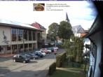 Archiv Foto Webcam Schönwald: Rathaus und Kirche 12:00