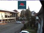 Archiv Foto Webcam Schönwald: Rathaus und Kirche 05:00