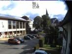 Archiv Foto Webcam Schönwald: Rathaus und Kirche 07:00