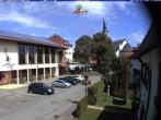 Archiv Foto Webcam Schönwald: Rathaus und Kirche 11:00