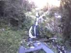 Archiv Foto Webcam Triberg Wasserfall 02:00