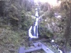 Archiv Foto Webcam Triberg Wasserfall 04:00