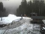 Archiv Foto Webcam Bergstation des Skigebiets Erlbach-Kegelberg 10:00