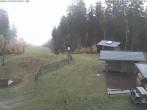 Archiv Foto Webcam Bergstation des Skigebiets Erlbach-Kegelberg 11:00