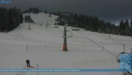 Archived image Webcam Chair Lift Lank in Bödele ski resort 02:00