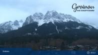 Archiv Foto Webcam Bergpanorama Grainau 19:00