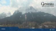 Archiv Foto Webcam Bergpanorama Grainau 07:00