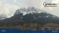 Archiv Foto Webcam Bergpanorama Grainau 09:00