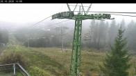 Archiv Foto Webcam Bocksberg: Bergstation Seilbahn 09:00